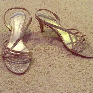 """Gold 2"""" Heels"""